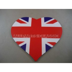 TAPIS DE SOURIS UNION JACK Ref: heartmap