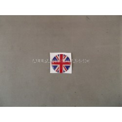 BADGE AUTOCOLLANT 27mm UNION JACK