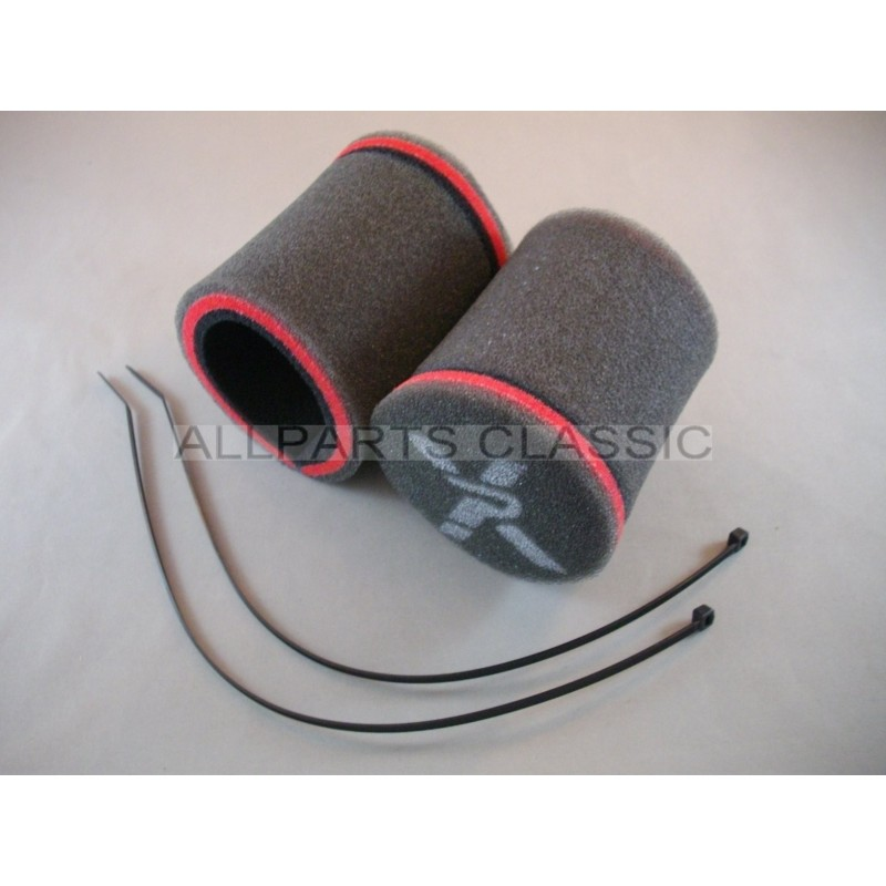 filtre a air chaussette cornet carbu su weber la paire ref pxc1050 allparts classic. Black Bedroom Furniture Sets. Home Design Ideas