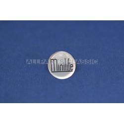 AUTOCOLLANT DE CENTRE DE ROUE MINILIFE Ref: sticker25